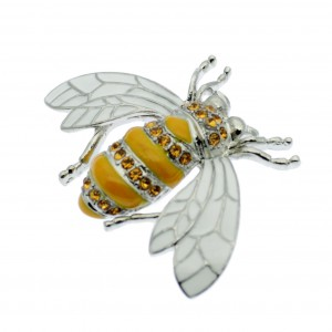 Art Deco Bee Brooch