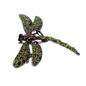 Art Deco Dragonfly Brooch