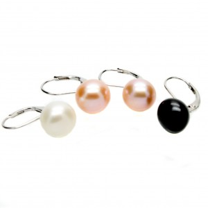 Lever Back Pearl Earrings