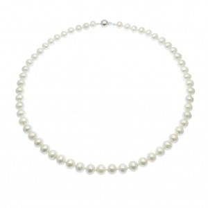 Princess Length Pearl Necklace