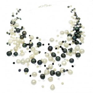 Pearl Floating Illusion Necklace